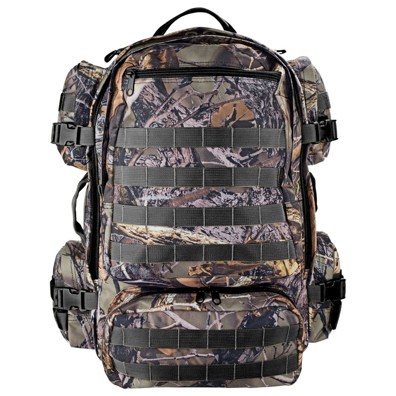 Kiligear Tactical Outdoor Pack Hunting Camo Backpack, Camping Day Pack -  910112