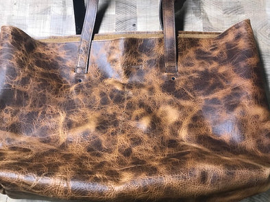 Whiskey Brown, Large Open Market Tote