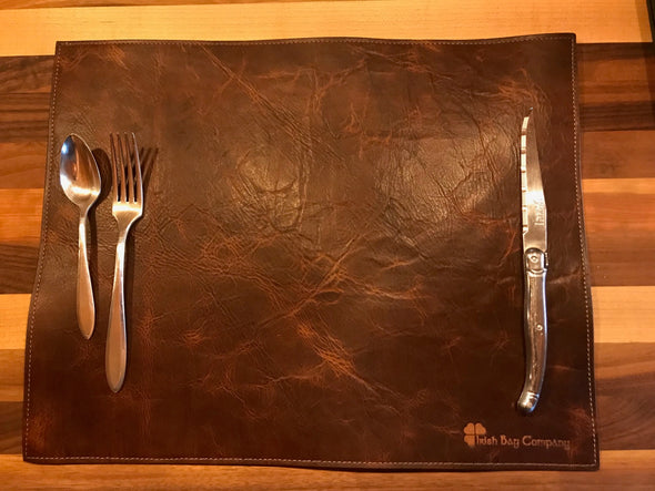 Whiskey Brown Placemat