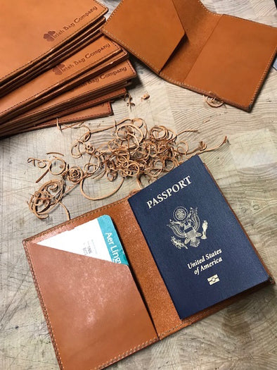 Passport wallets are on the bench!