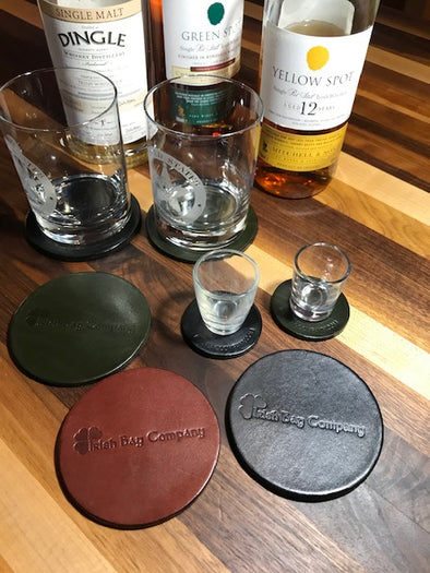 Drink Coasters and shot glass mini-coasterettes