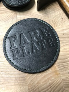 Fare Plate, NYC 2018 Promo Leather