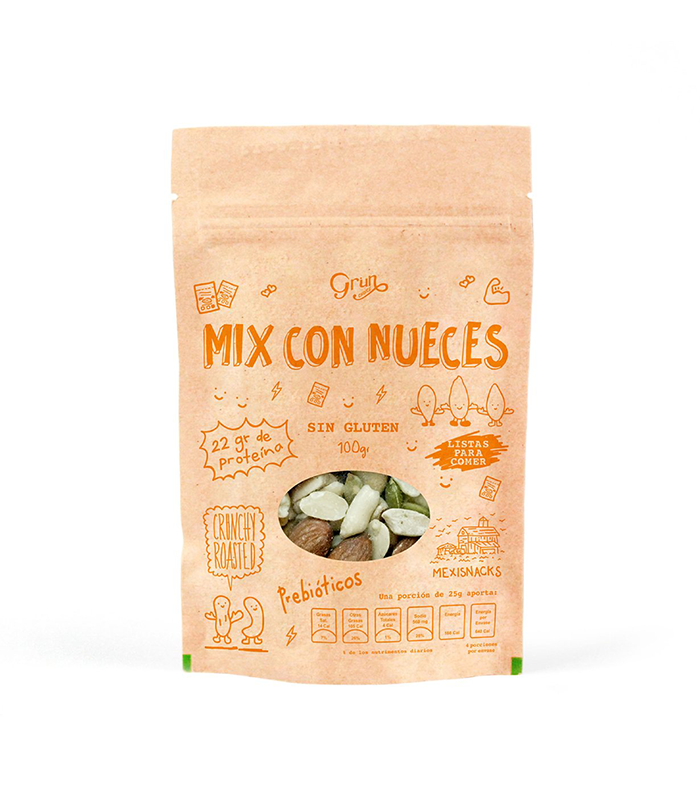 MIX DE NUECES  GRUN CHOICE