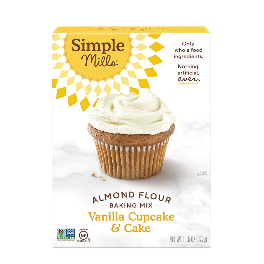 VAINILLA CUPCAKE SIMPLE MILLS