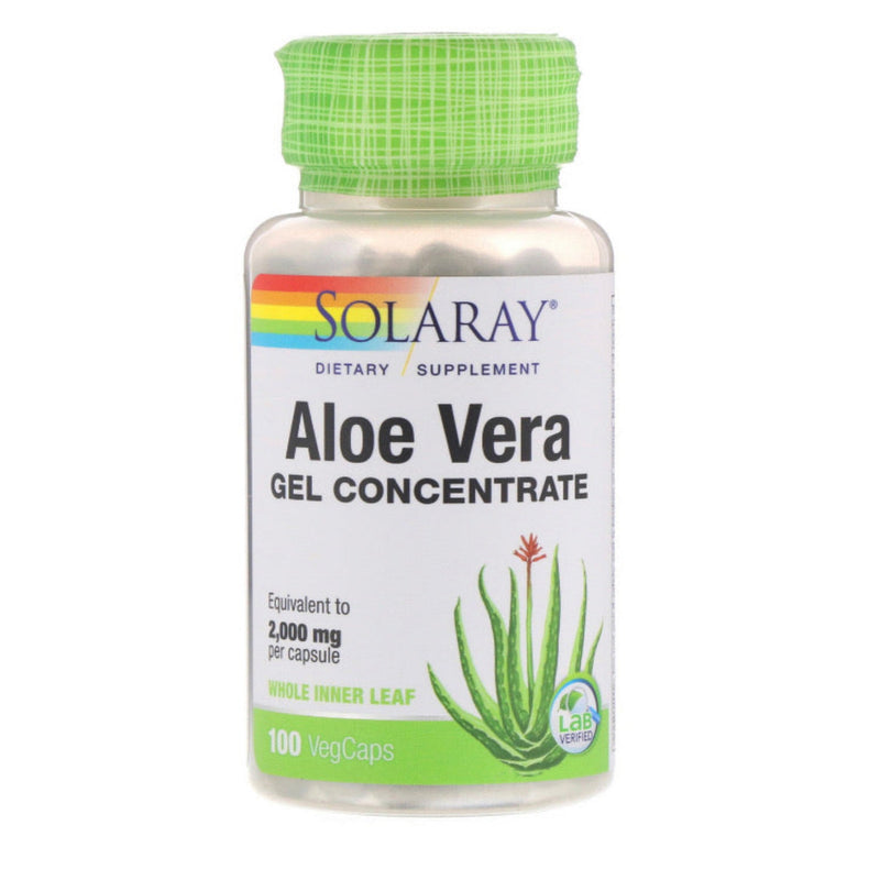 ALOE VERA GEL CONCENTRATE SOLARAY