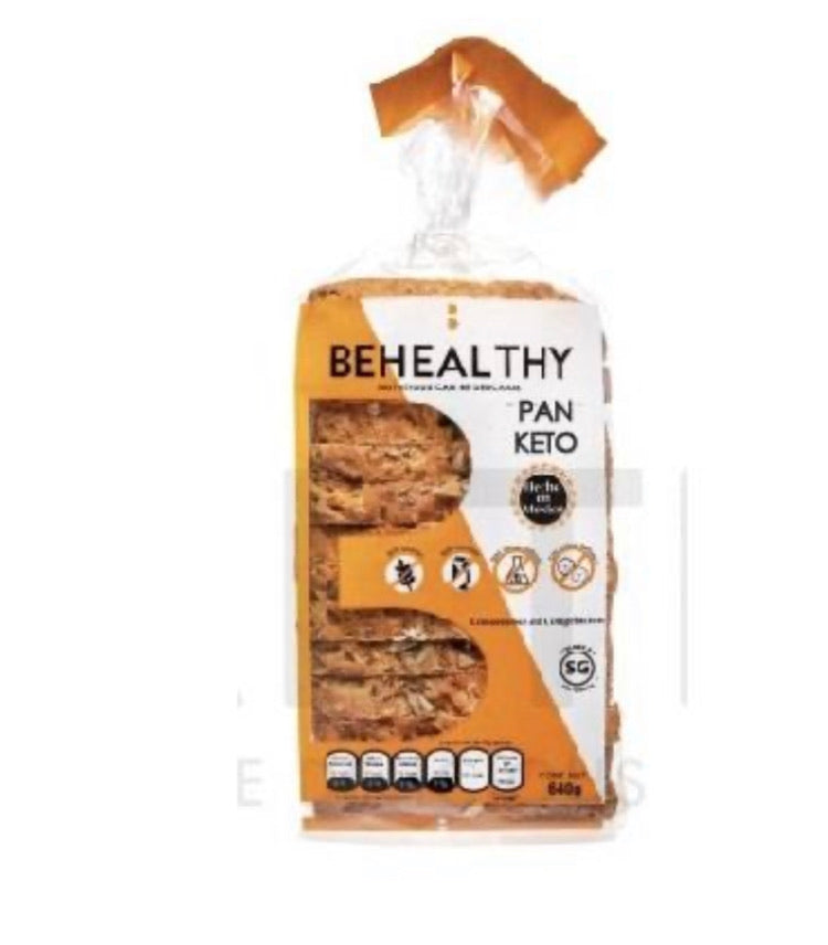 PAN DE CAJA KETO BEHEALTHY