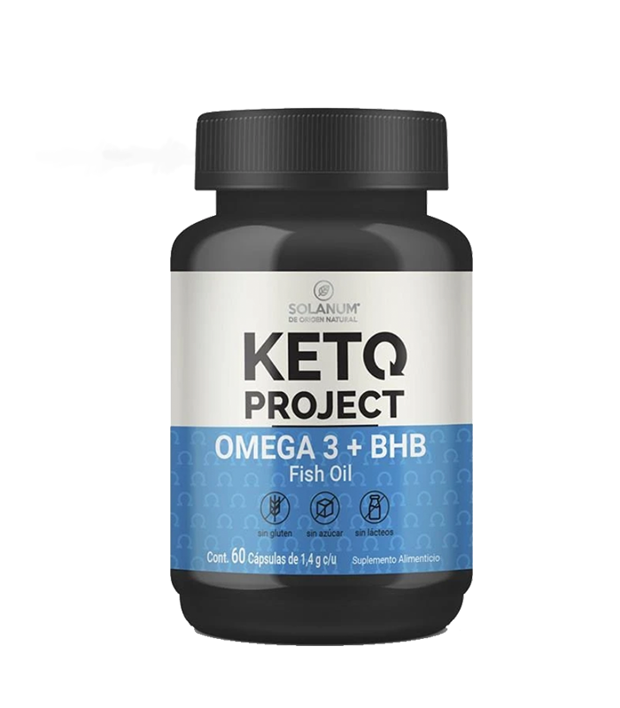 KETO PROJECT OMEGA 3 + BHB