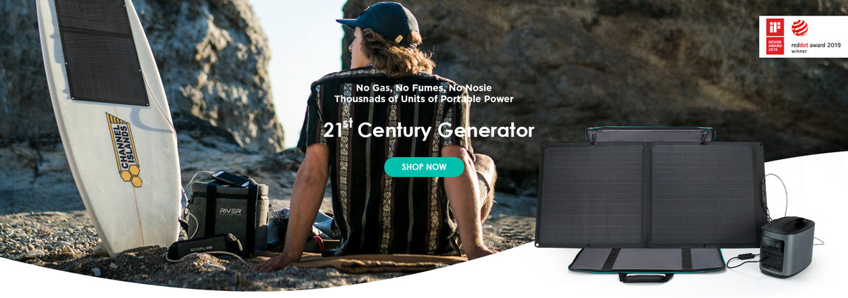 Portable Power Stations By Ecoflow