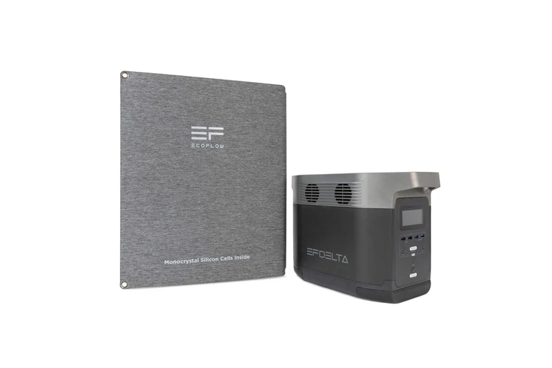 EcoFlow DELTA Power Station with 110W Solar Panel