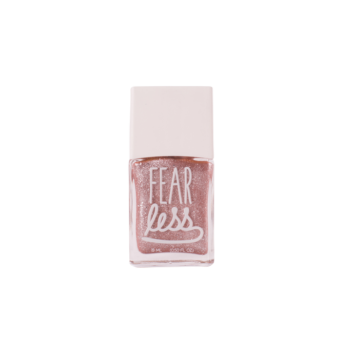 Fearless'2 in Glitter Taupe