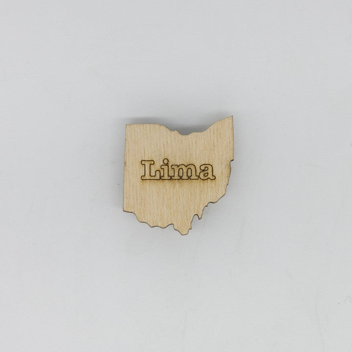 Lima Ohio Mini Magnet