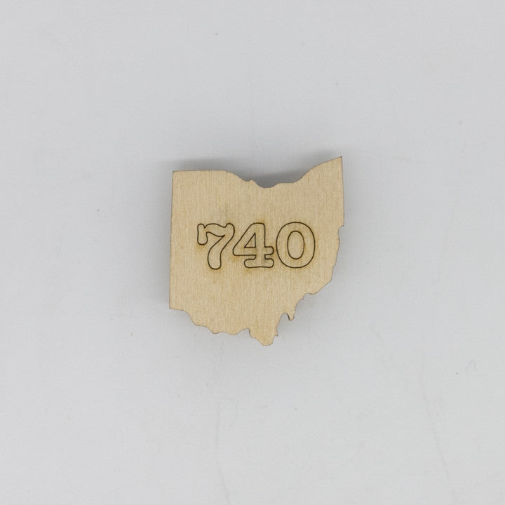 740 Ohio Mini Magnet