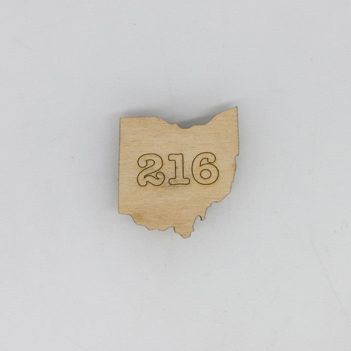 216 Ohio Mini Magnet