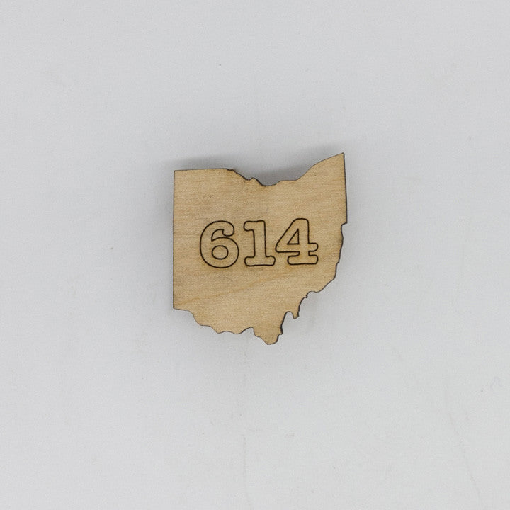 614 Ohio Mini Magnet
