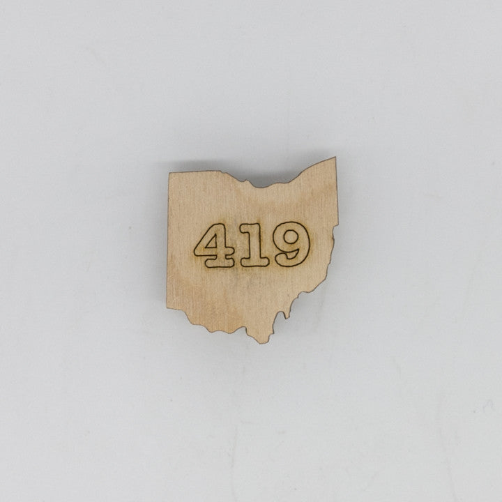 419 Ohio Mini Magnet