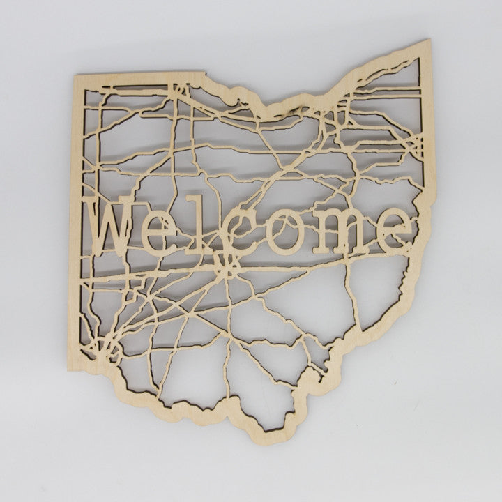 Welcome Ohio Map