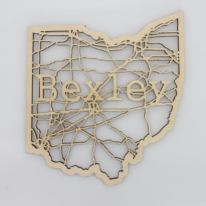 Bexley Ohio Map