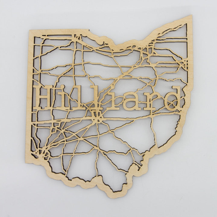 Hilliard Ohio Map