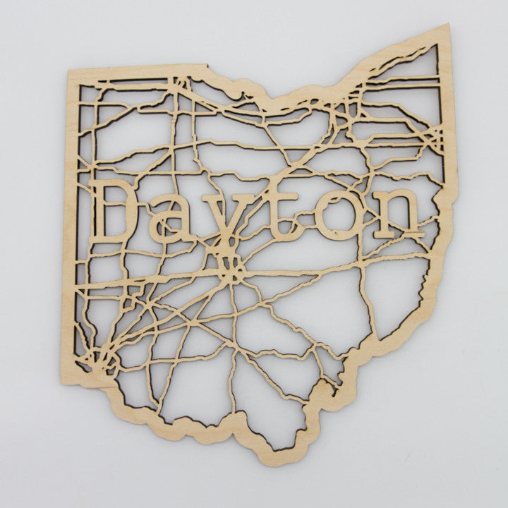 Dayton Ohio Map