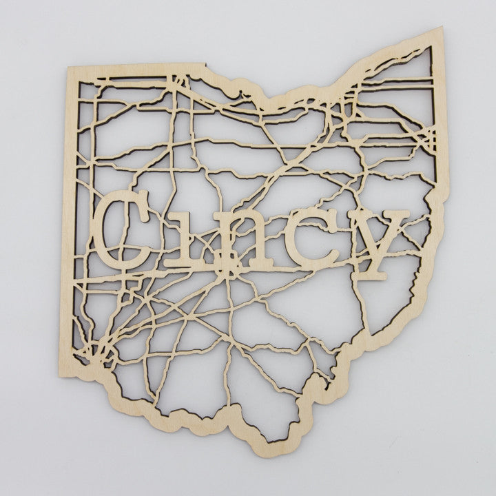 Cincy Ohio Map