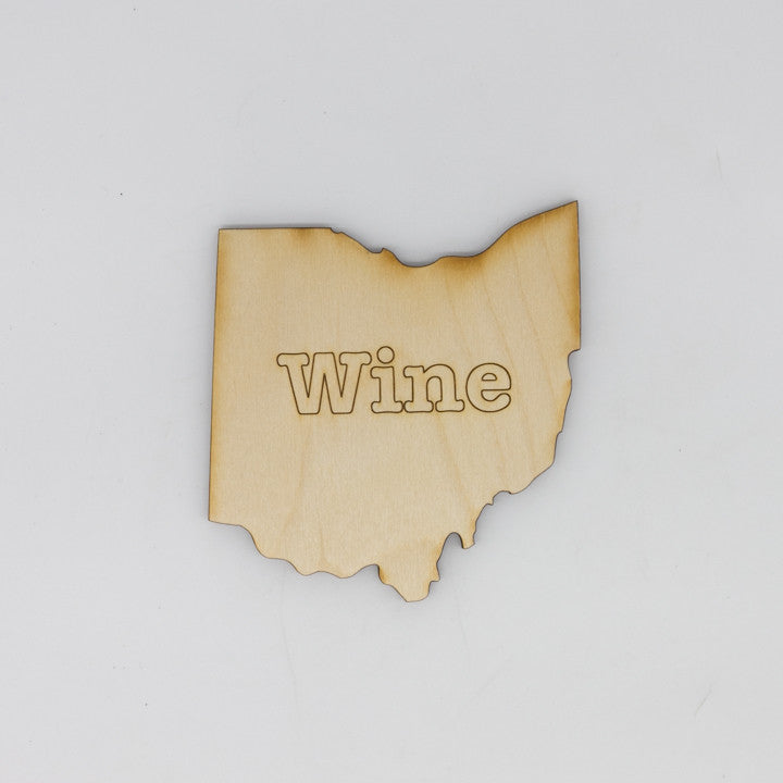 Wine Ohio Coaster