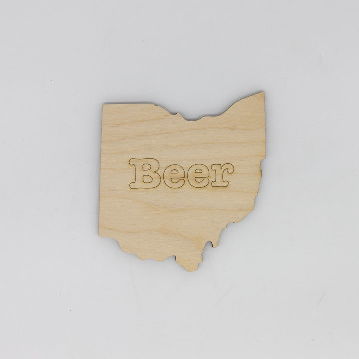 Beer Ohio Coaster