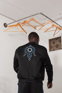 Reversible Bomber - Black & Blue