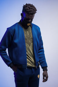 Reversible Perforated Bomber - Mwami