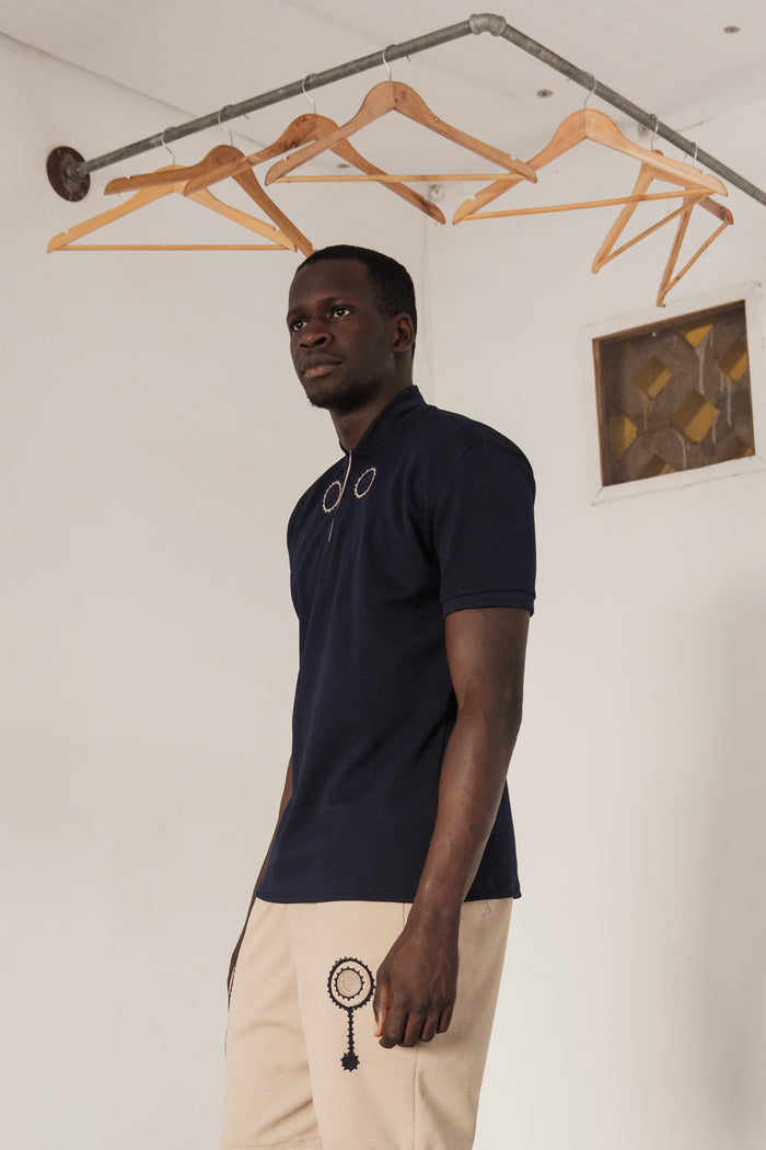 Harmattan Polo - Midnight Blue - Mwami