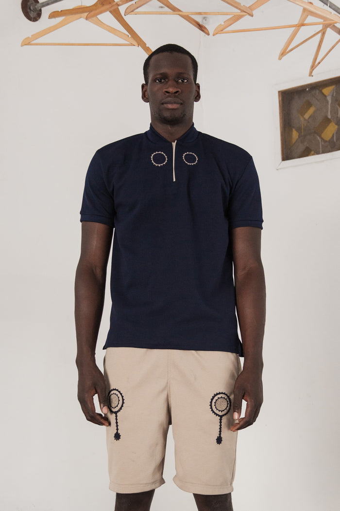 Harmattan Polo - Midnight Blue