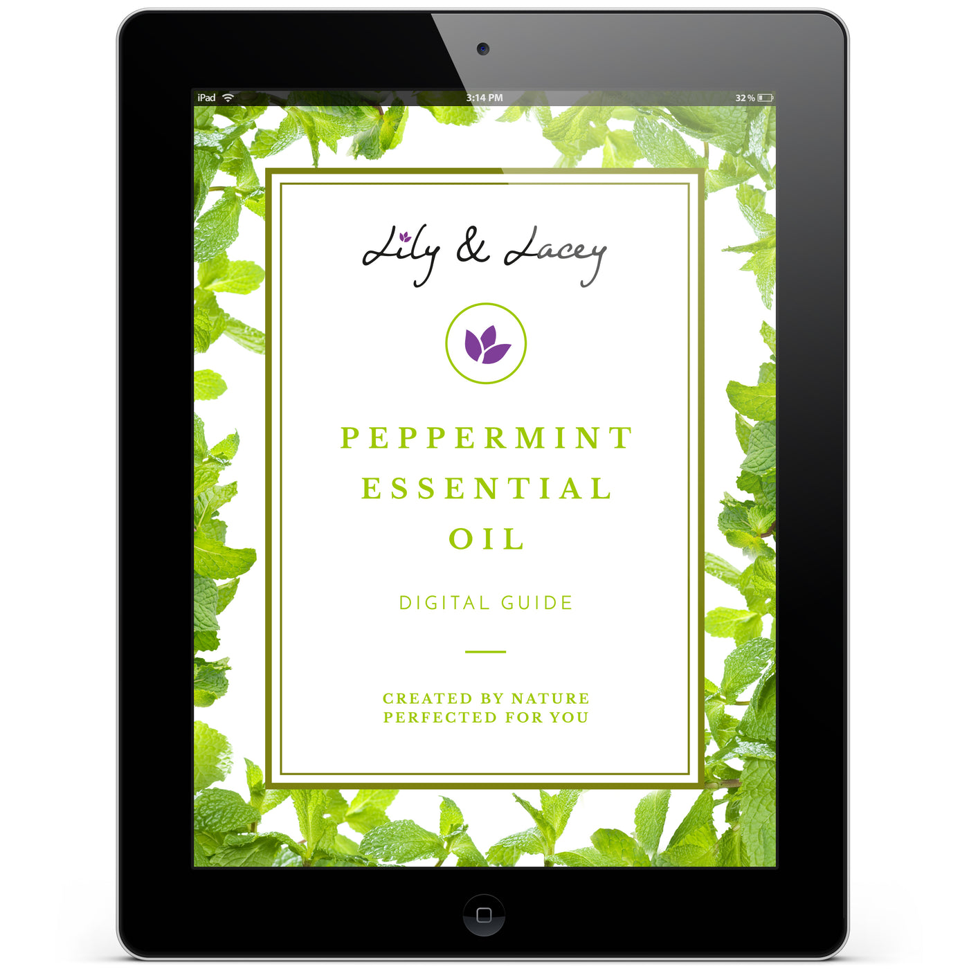 Lily & Lacey™ Peppermint Essential Oil