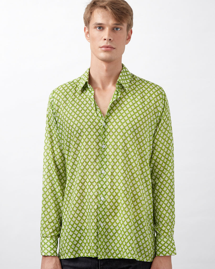 MKOKONI SHIRT IN GREEN
