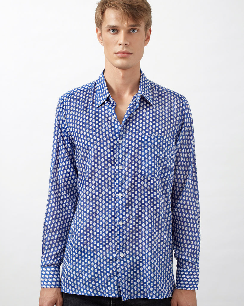KILIFI SHIRT IN BLUE