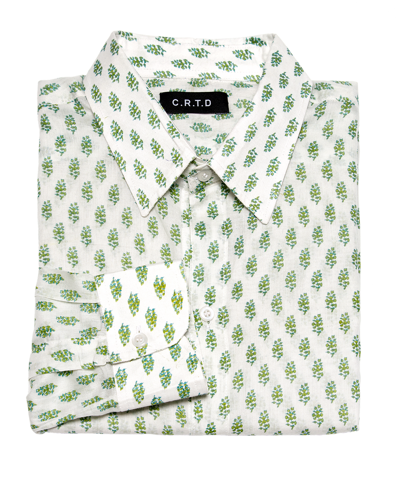 NAKURO SHIRT IN GREEN