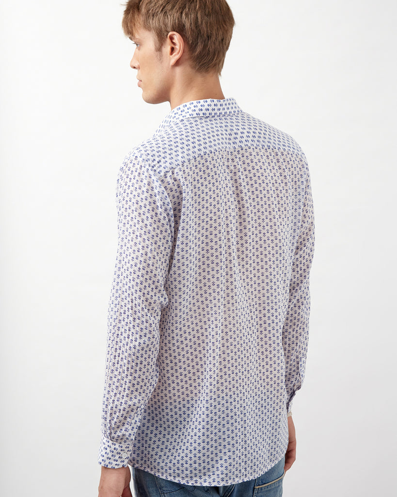 MALINDI SHIRT IN BLUE