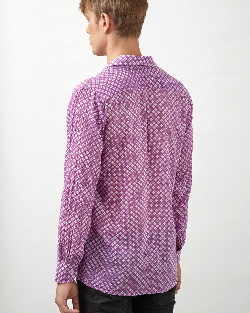 TSAVO SHIRT IN PURPLE
