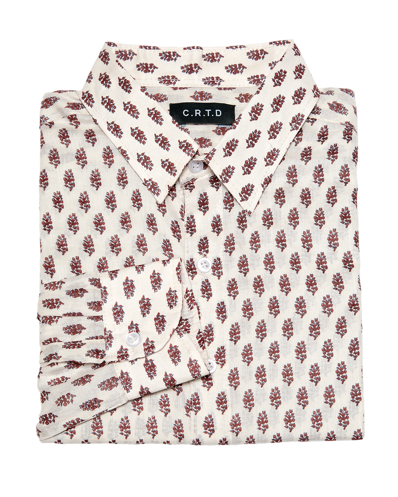 NAKURO SHIRT IN BROWN