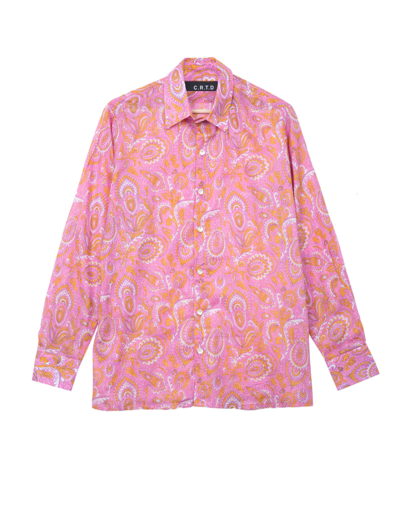 TURKANA SHIRT IN PINK