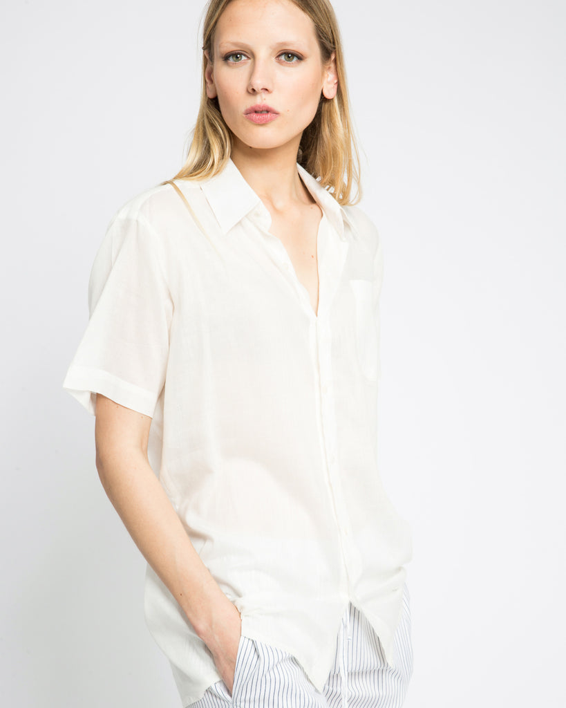 NATURAL KENYAN SHORT SLEEVE SHIRT