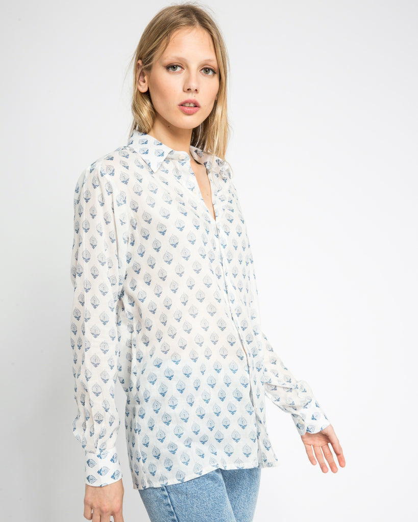 WAMBA SHIRT IN BLUE