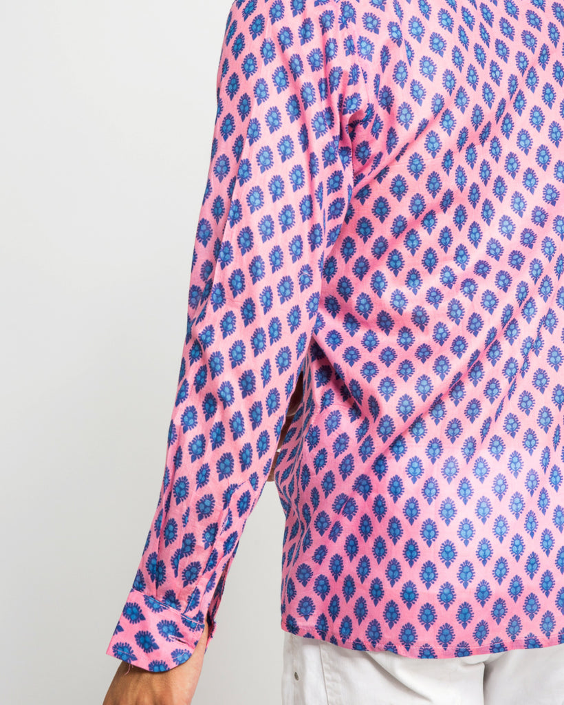 TIWI SHIRT IN PINK & BLUE