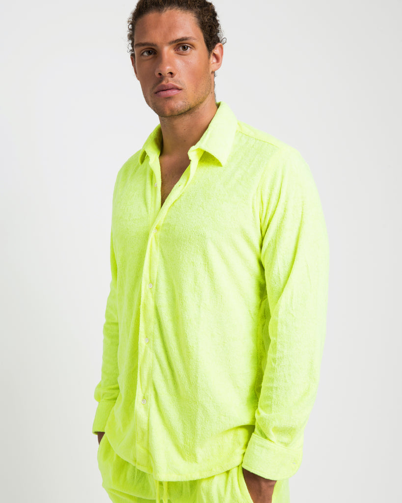 NEON TOWELLING SHIRT