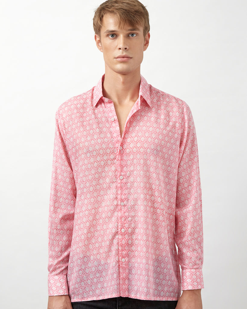 BORANA SHIRT IN PINK