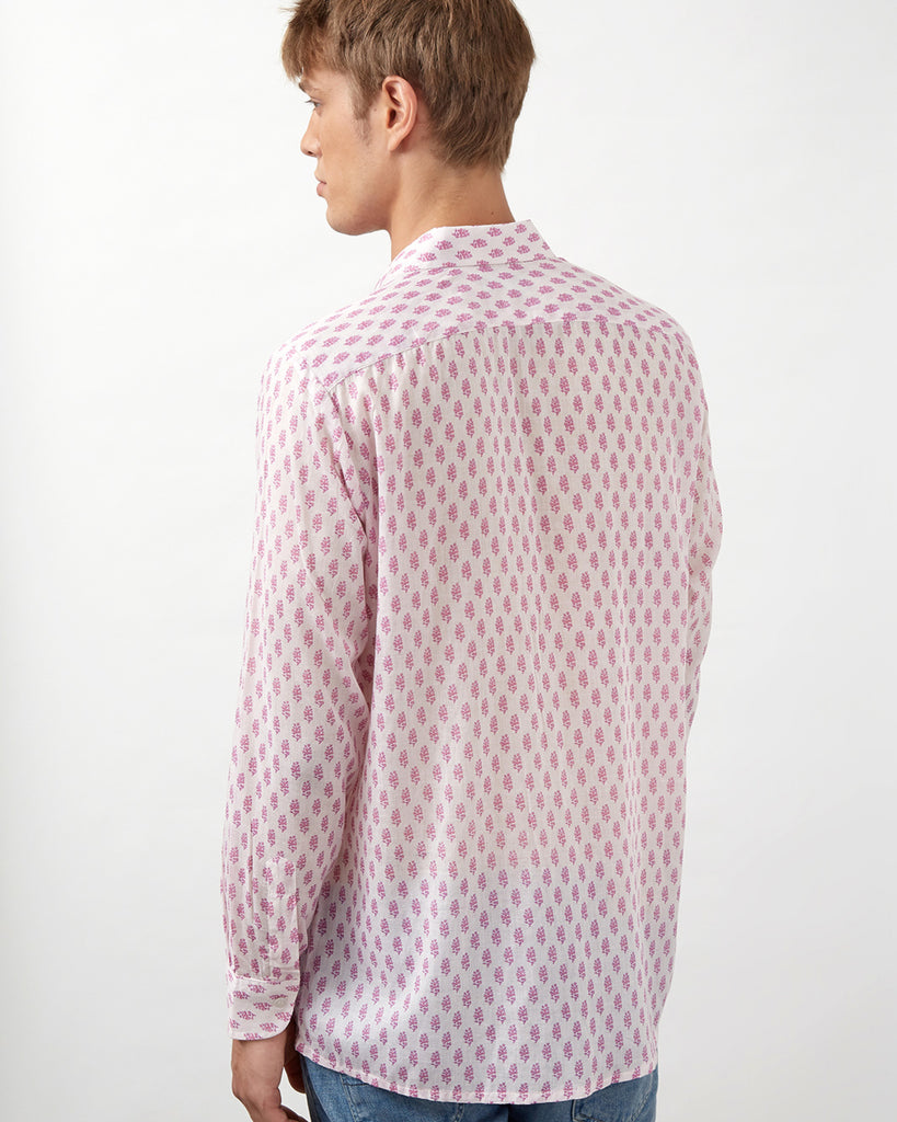 NAKURO SHIRT IN PINK