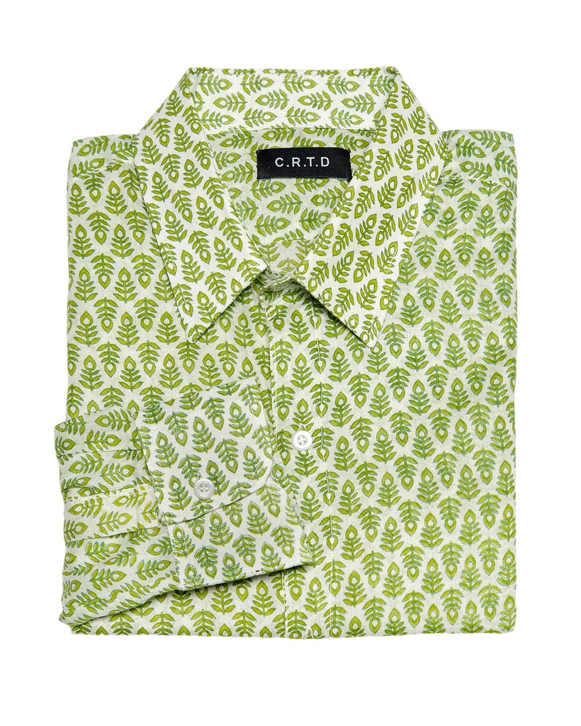 MANDA SHIRT IN GREEN