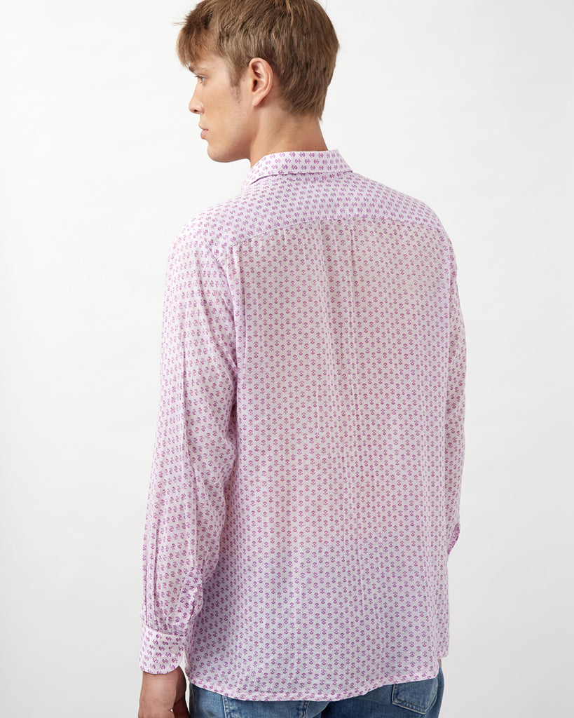 MALINDI SHIRT IN PURPLE