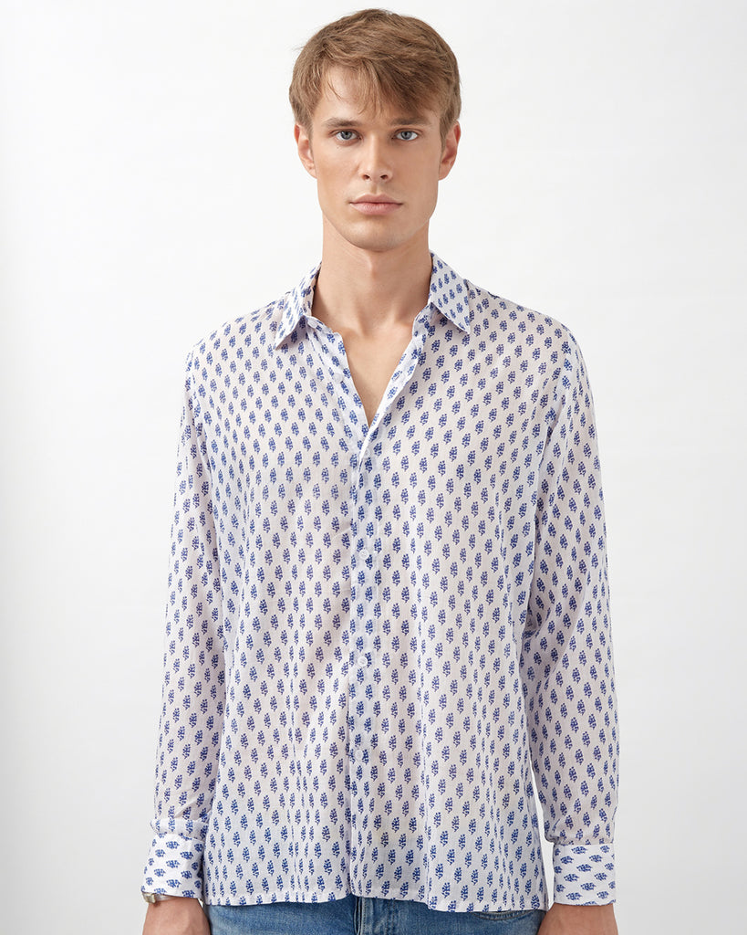 NAKURO SHIRT IN BLUE
