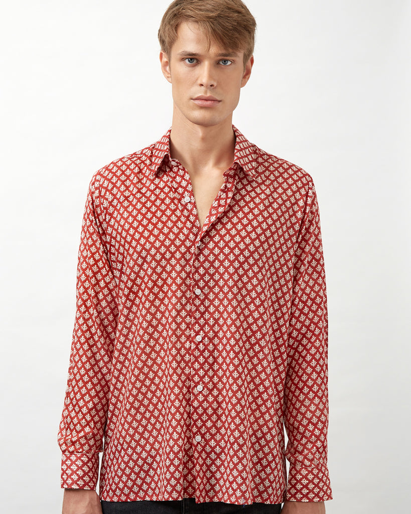 MKOKONI SHIRT IN RED