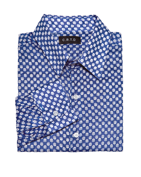 NYERI SHIRT IN BLUE