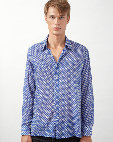 TSAVO SHIRT IN BLUE